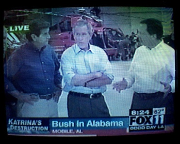 FEMA Director Bores Bush While New Orleans Burns...